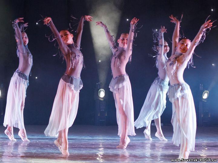 г. Советск Кировской обл. Районный Дом нарожного творчества. Образцовый ансамбль современного танца «Мелиссента»