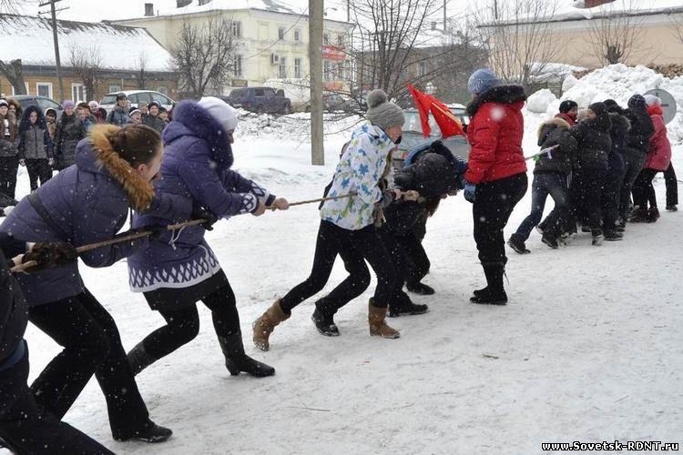 г. Советск Кировской области, РДНТ — Масленица