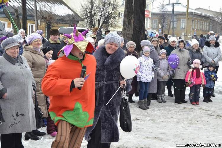 РДНТ г. Советск Кировской области. Масленица.