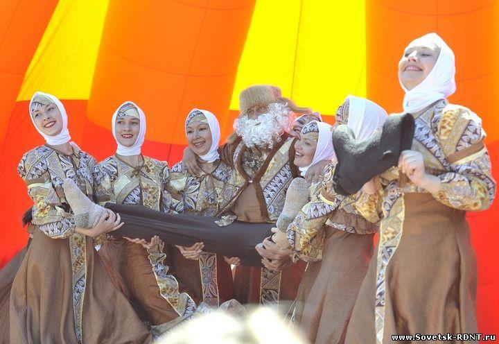 г. Советск Кировской обл., РДНТ, Областной конкурс «Шире круг»