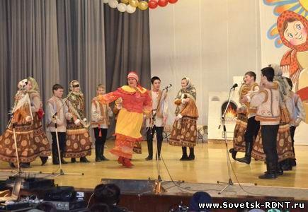 Город Советск Кировской области, Масленица!