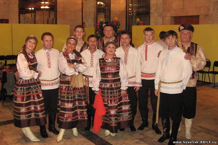 Самодеятельный народный коллектив семейного ансамбля «Надежда», город Советск Кировской области, РДНТ